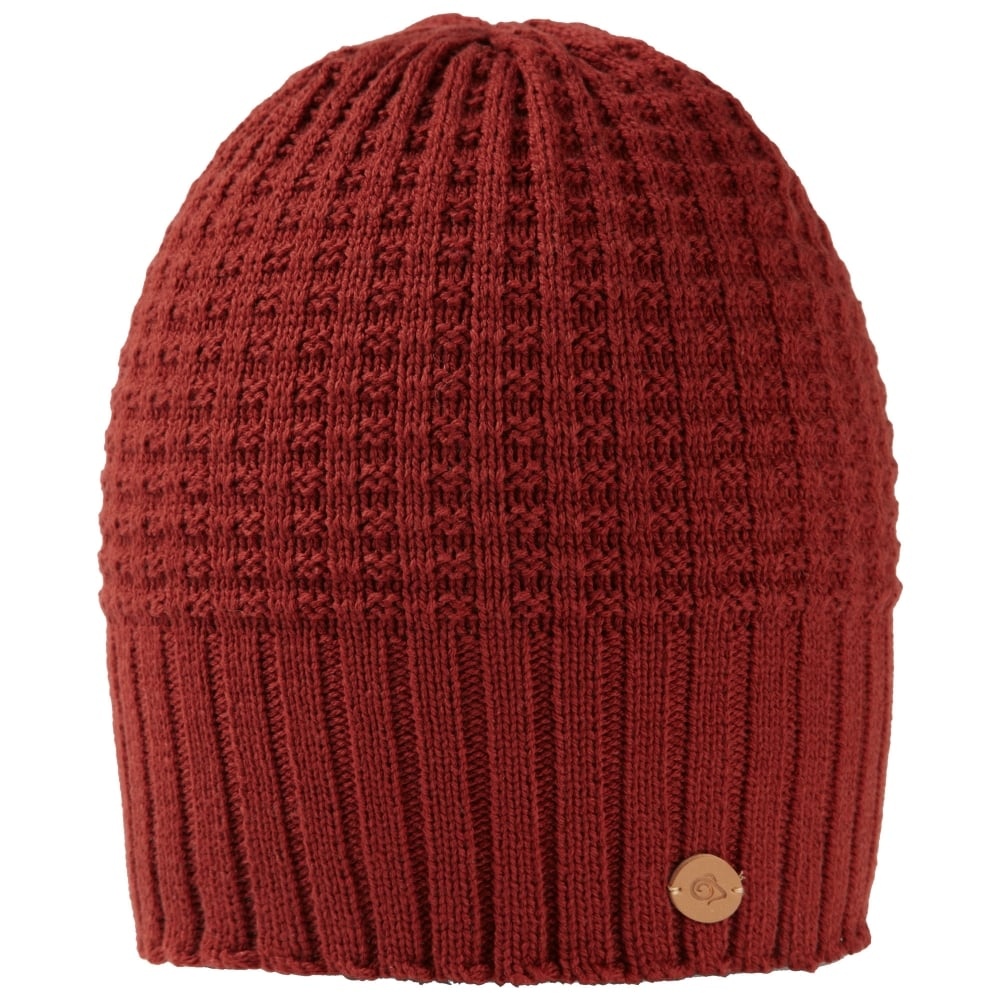 Craghoppers Brompton Waffle Knit Beanie Hat - Under £30 from Gaynor ... 4050d2cf616f