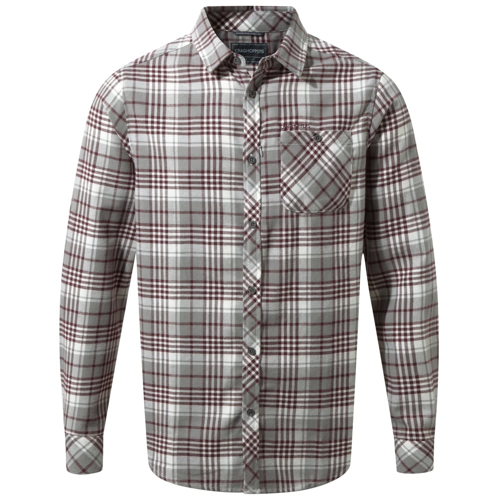 Craghoppers Mens Bjorn Long Sleeve Check Shirt - Under £30 from ... cba280d65
