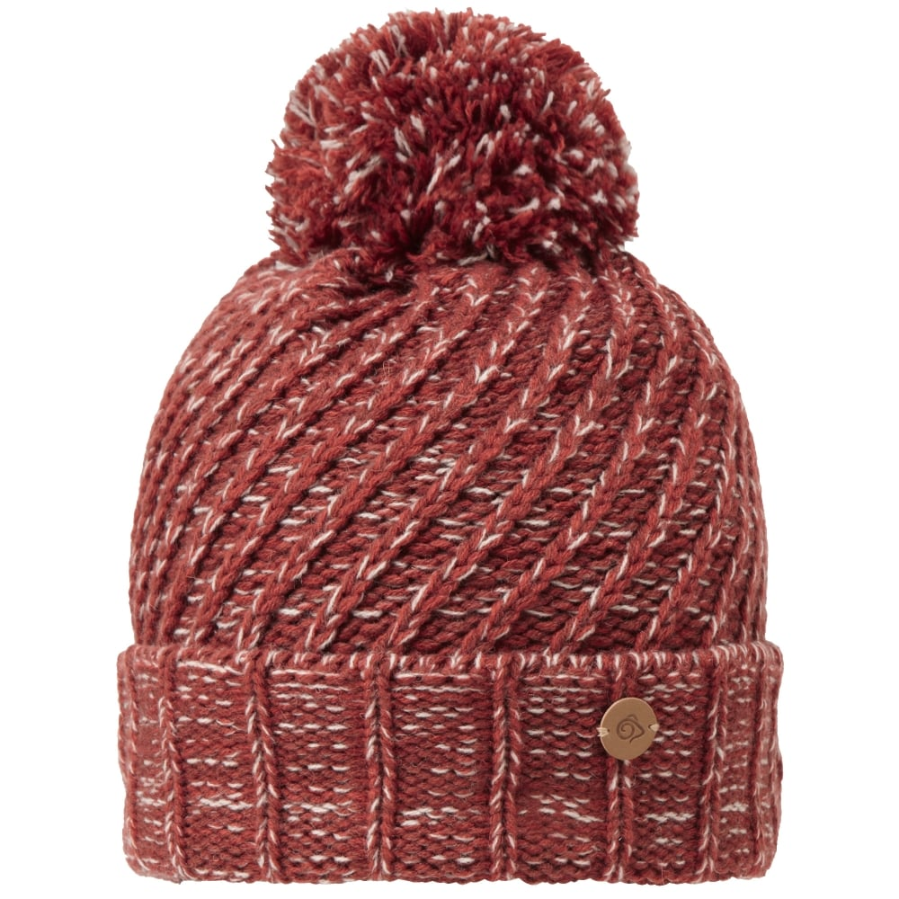 Craghoppers Womens Nora Knit Bobble Hat - Women s from Gaynor Sports UK 213dca7924c
