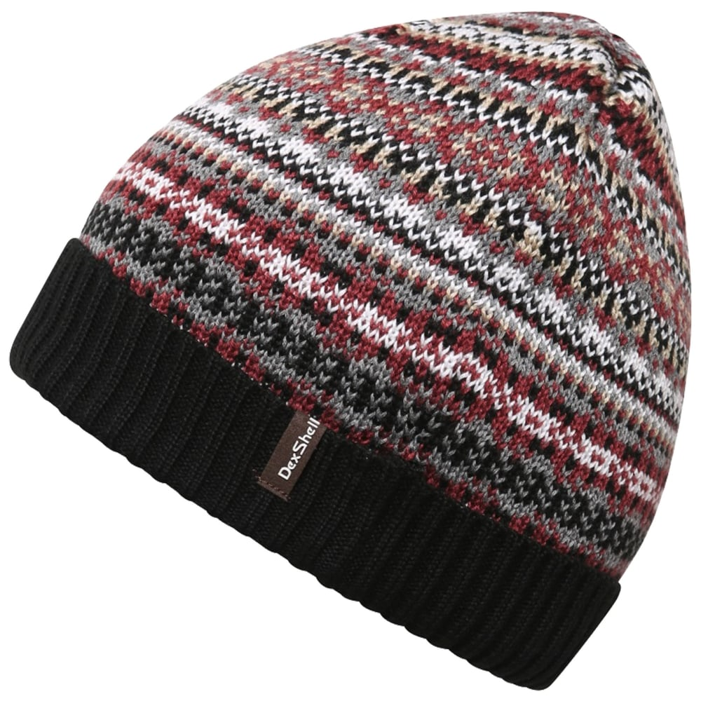 Dexshell Fair Isle Beanie - Men s from Gaynor Sports UK 0ba623e2e91