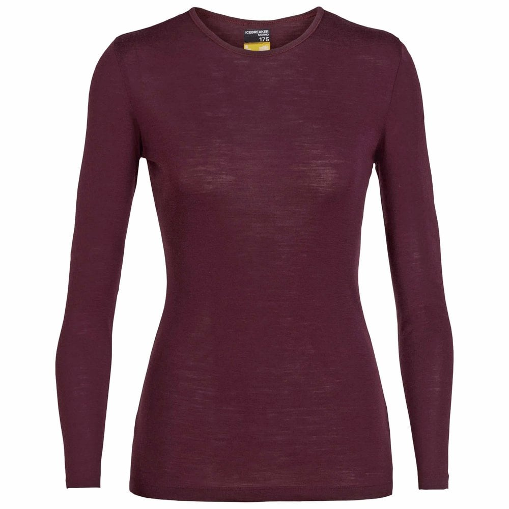 d2776118f7c Icebreaker Womens 175 Everyday Long Sleeve Crewe - Under £30 from ...