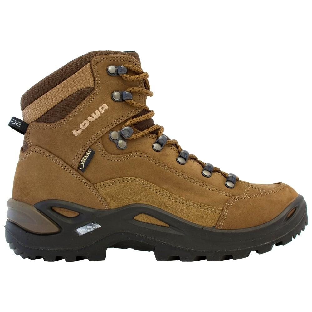 Lowa Womens Renegade GTX Mid W Walking Boots - Footwear from Gaynor ... 48b2b124beea