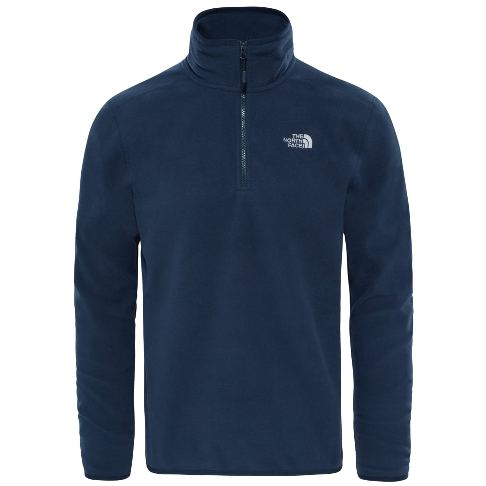 ce53672e2da The North Face Mens 100 Glacier 1/4 Zip - Men's from Gaynor Sports UK