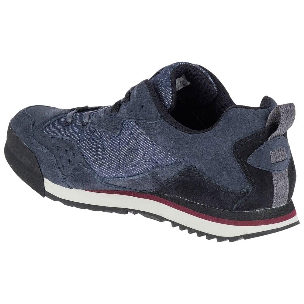 5dd5d94d5a0a9 Merrell Mens Burnt Rock Tura Denim Low Walking Shoes - Footwear from ...