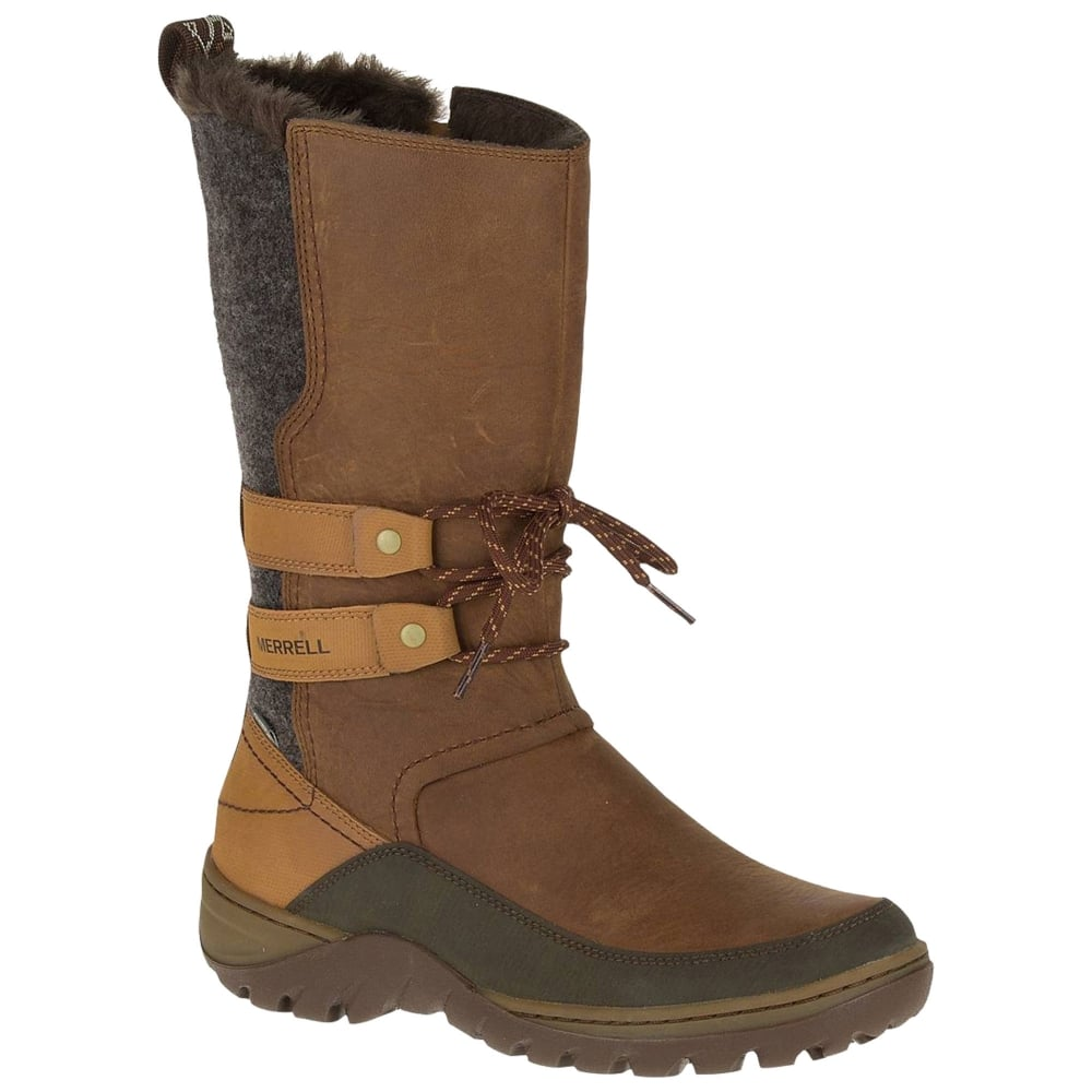 tyylikkäät kengät aika halpaa säästää Merrell Womens Sylva Tall WTPF Winter Boots