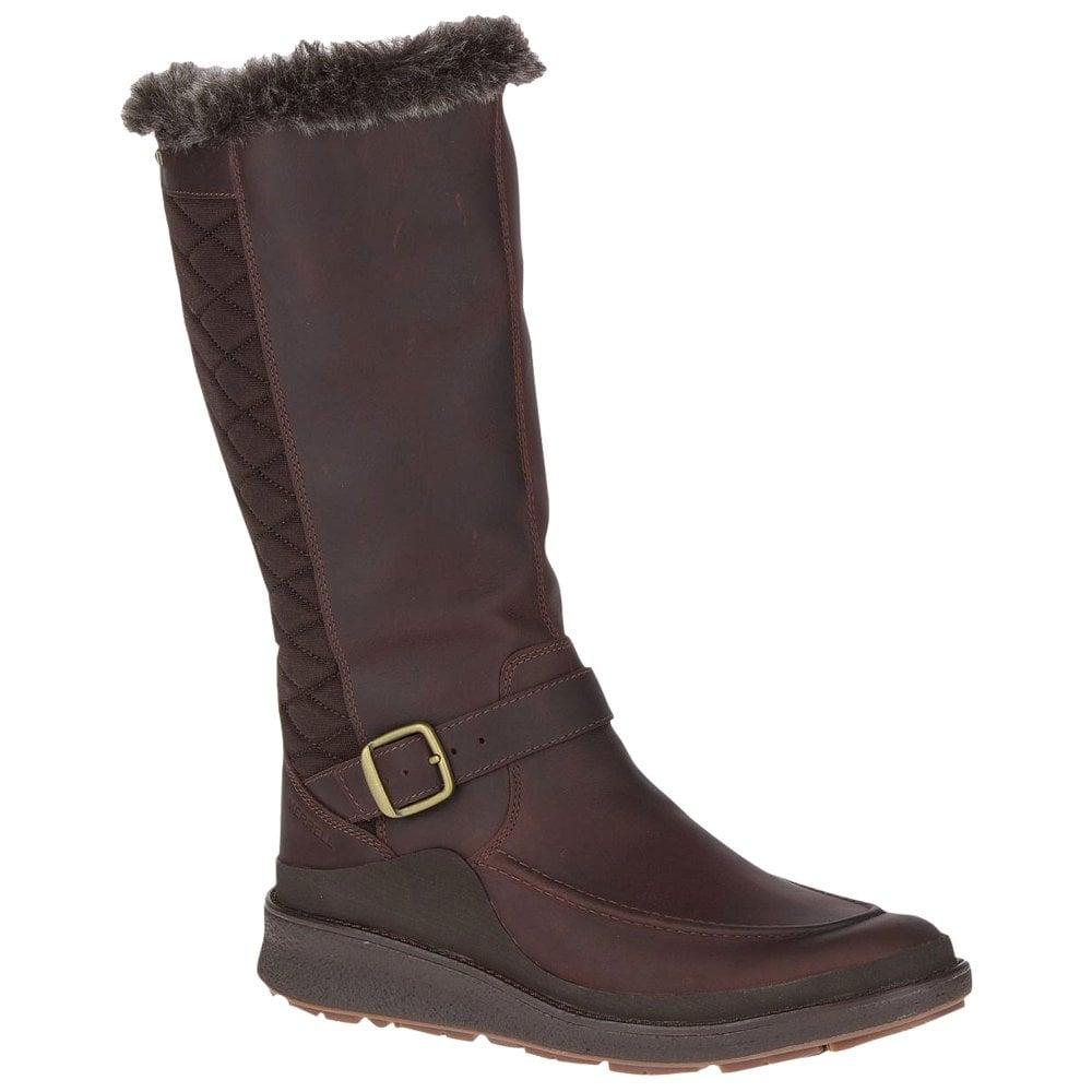 8c68df5ffd1bb Merrell Womens Tremblant Ezra Tall WTPF Ice+ Winter Boots Tall ...