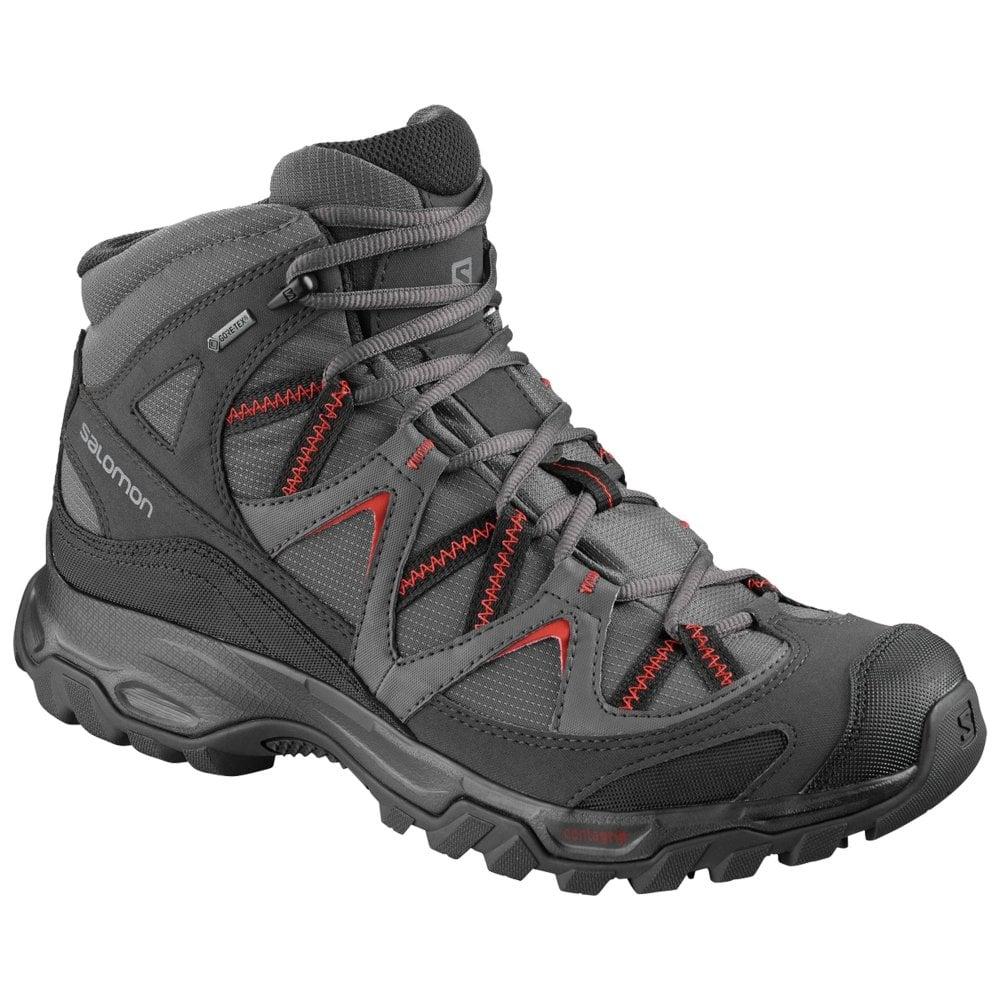 newest 1a779 45254 Salomon Mens Bekken Mid GTX Walking Shoes