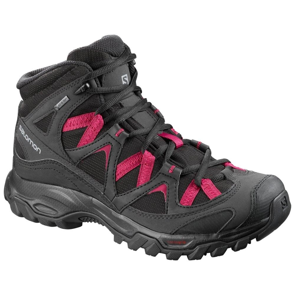 Salomon Womens Cagliari Mid GTX Walking Boots