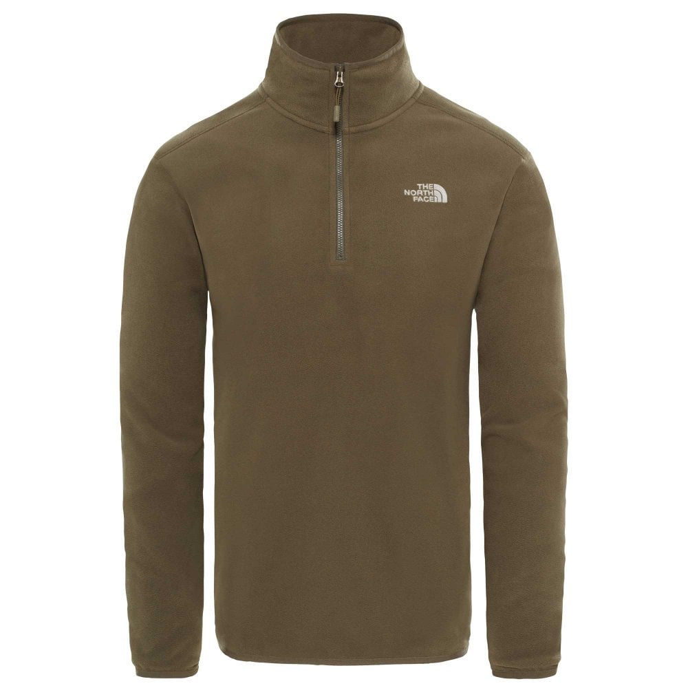 The North Face Mens 100 Glacier 1 4 Zip - Men s from Gaynor Sports UK be9b3ac1b