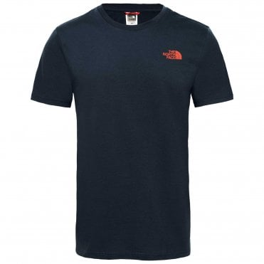 Mens Short Sleeve Simple Dome Tee