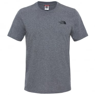 825703564b Mens Simple Dome Short Sleeve Tee · The North Face ...