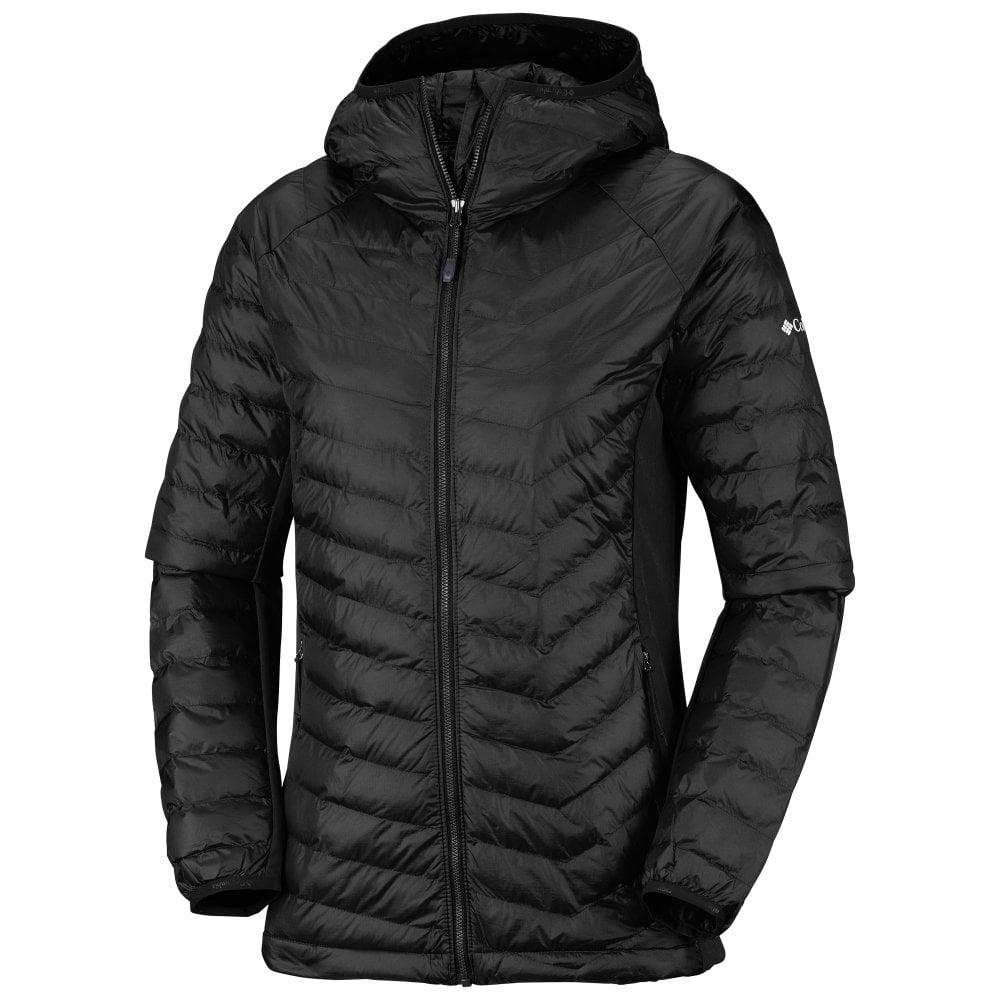 Columbia Womens Powder Pass Hooded Jacket